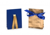 Blue and Gold Envelope Bags