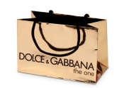 Dolce & Gabbana Gold Foil Bag
