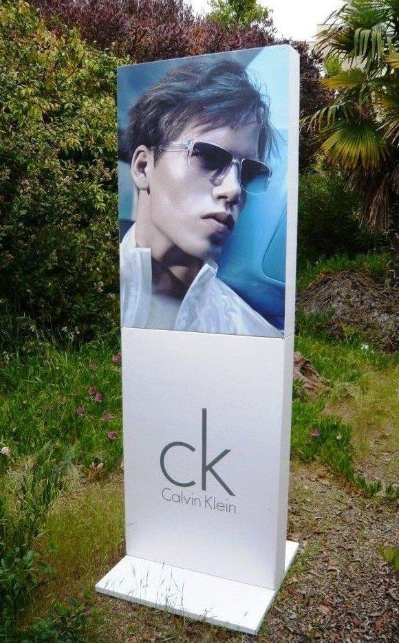 Calvin Klein Tower Display
