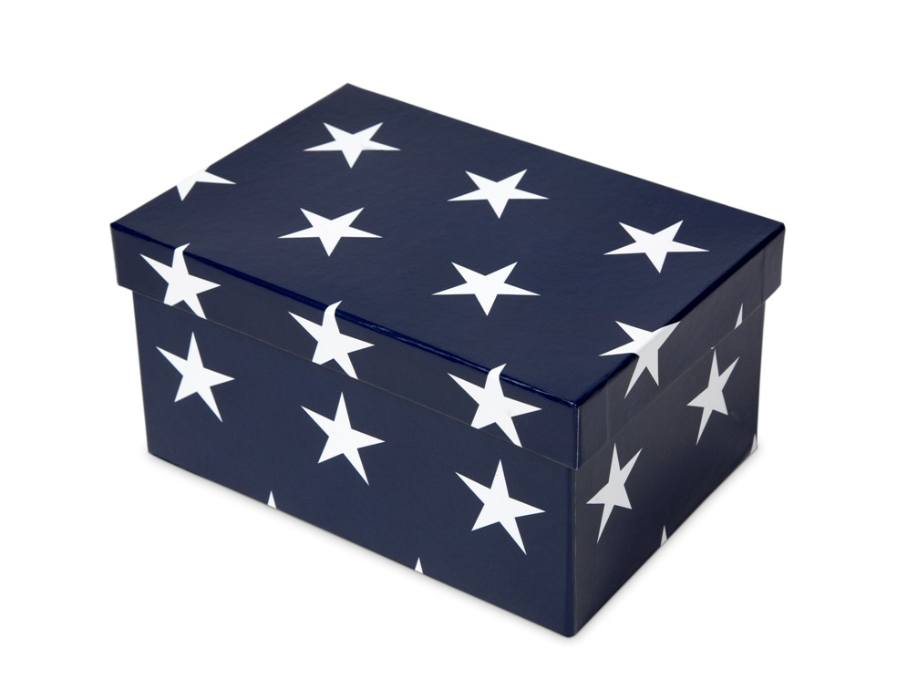 Stars Rectangular Box