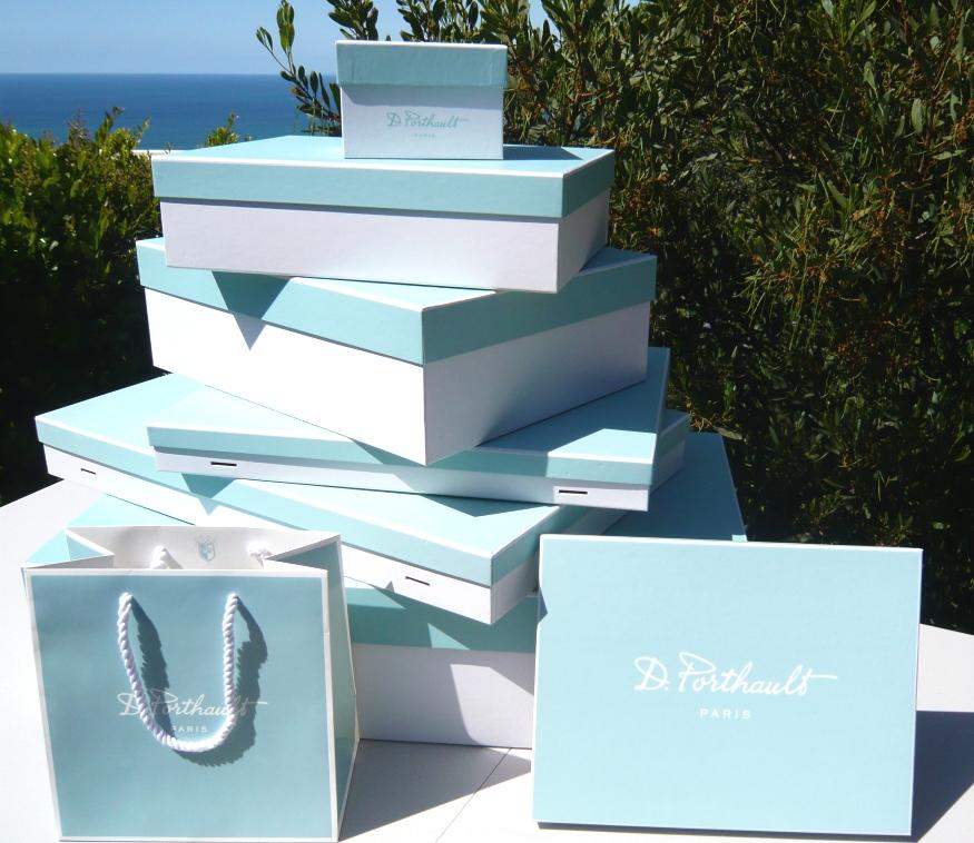 D. Porthault Boxes