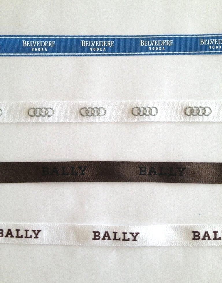 Belvedere Vodka, Bally and Audi Ribbon Samples