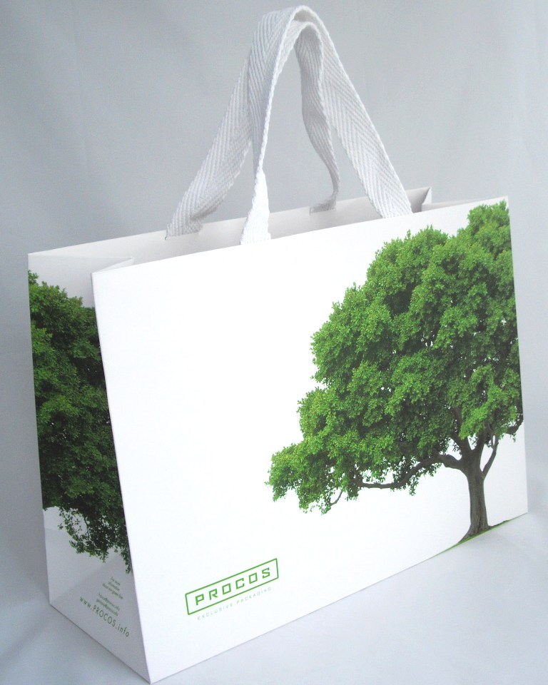 Large Eco-Friendly Retail Bag