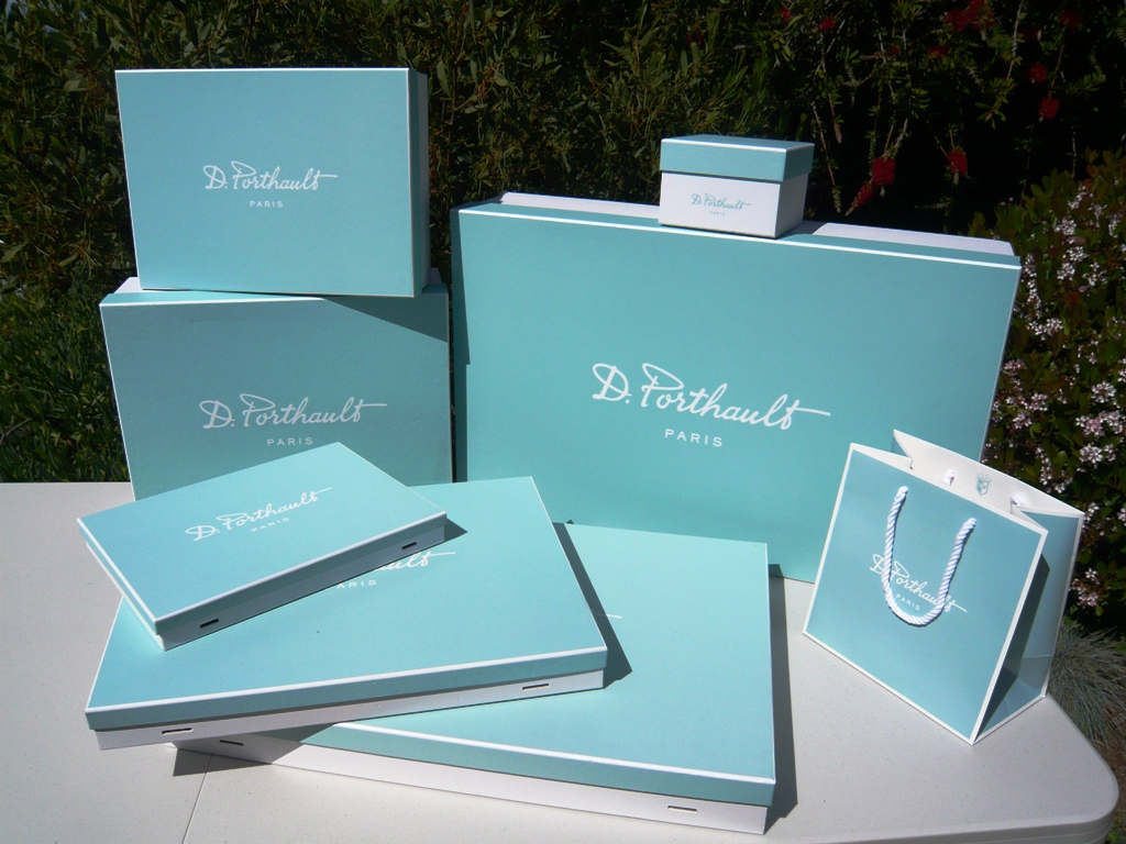 D. Porthault Bags and Boxes
