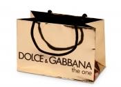Dolce & Gabbana Gold Foil Bag